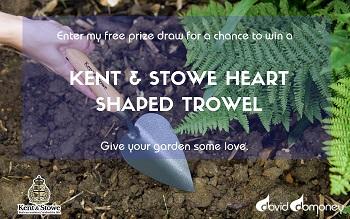 Kent & Stowe Heart Shaped Trowel